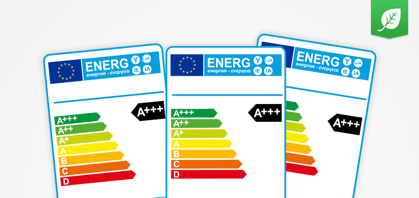 EU Energy Labels and energy efficiency rating